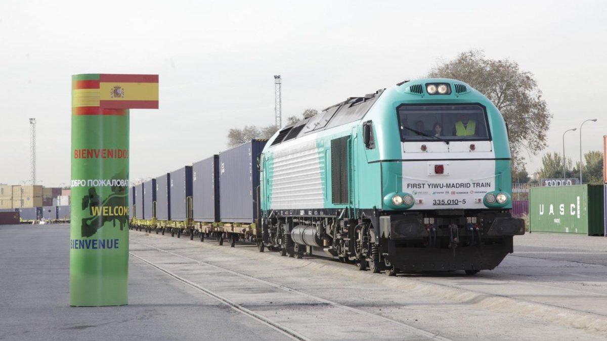 El ferrocarril entre China y Europa gana atractivo con el coronavirus