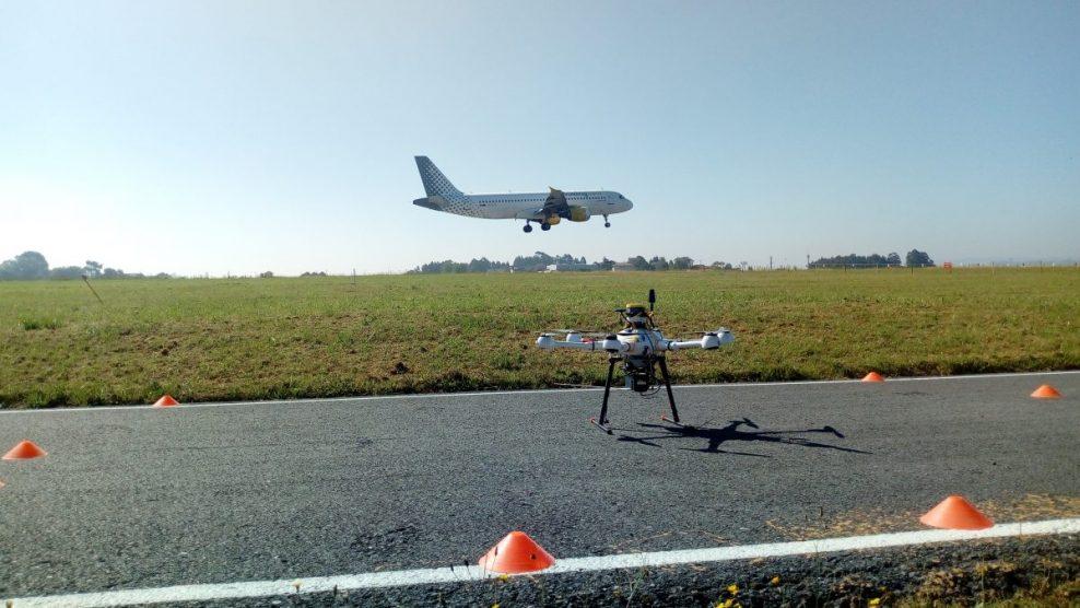 Aena Prueba El Uso De Drones En El Campo De Vuelo Del Aeropuerto De