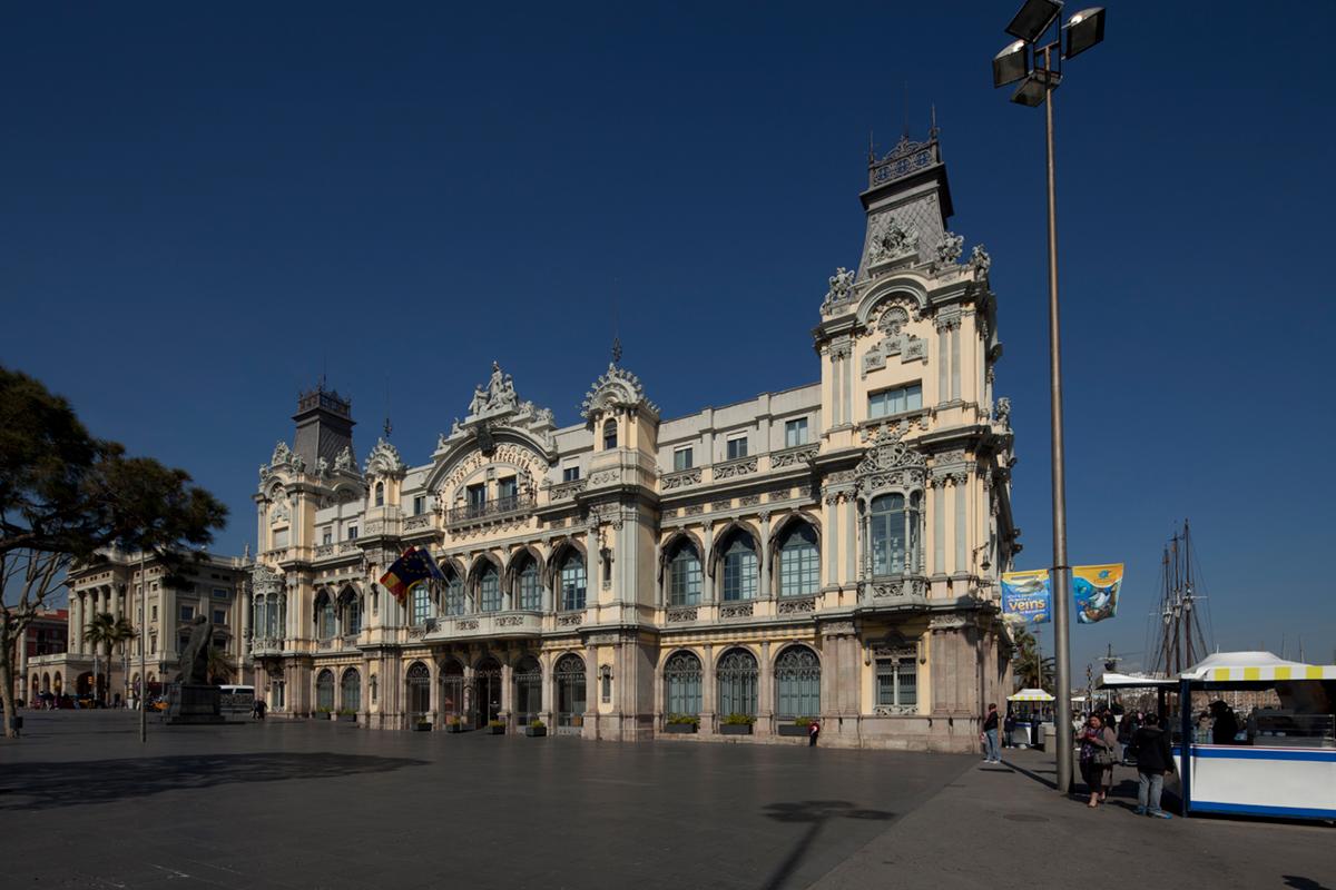 Sede histórica de la Junta de Obras del Puerto de Barcelona / Port Vell