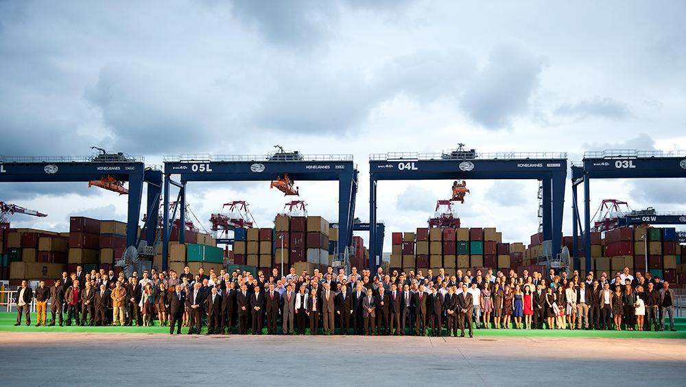 Inauguración de la terminal BEST / Hutchison Ports