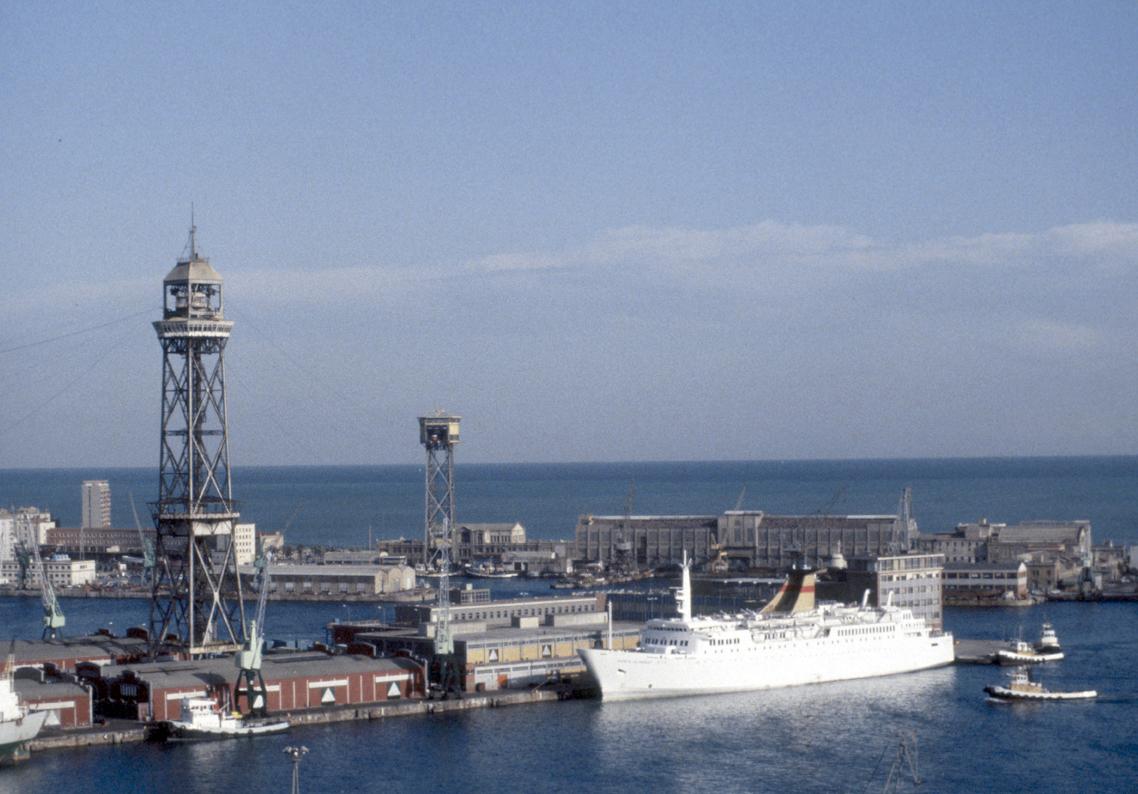 Parte del puerto de Barcelona a principios de la década de 1980 / Archivo Fotográfico de Barcelona (Autor: Colita - Productor)