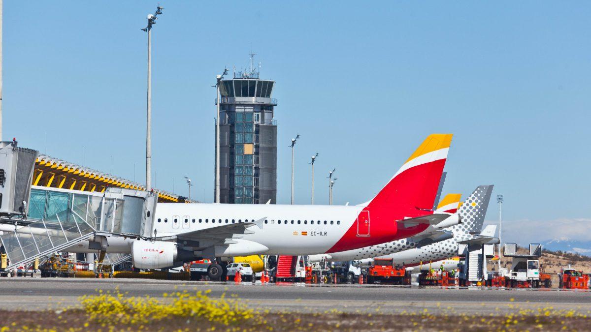 Madrid-Barajas se convierte en el aeropuerto con más aviones en ...