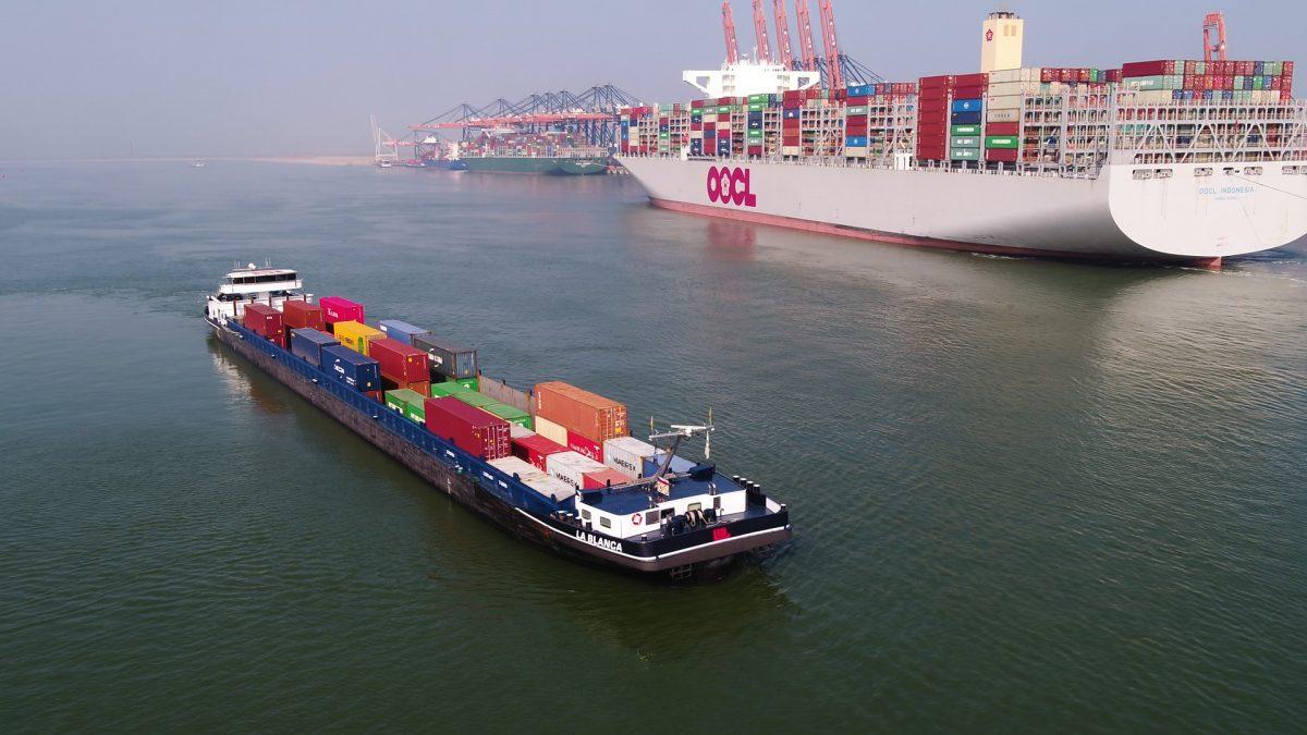 Rotterdam recupera parte de sus volúmenes prepandemia en el primer trimestre del año