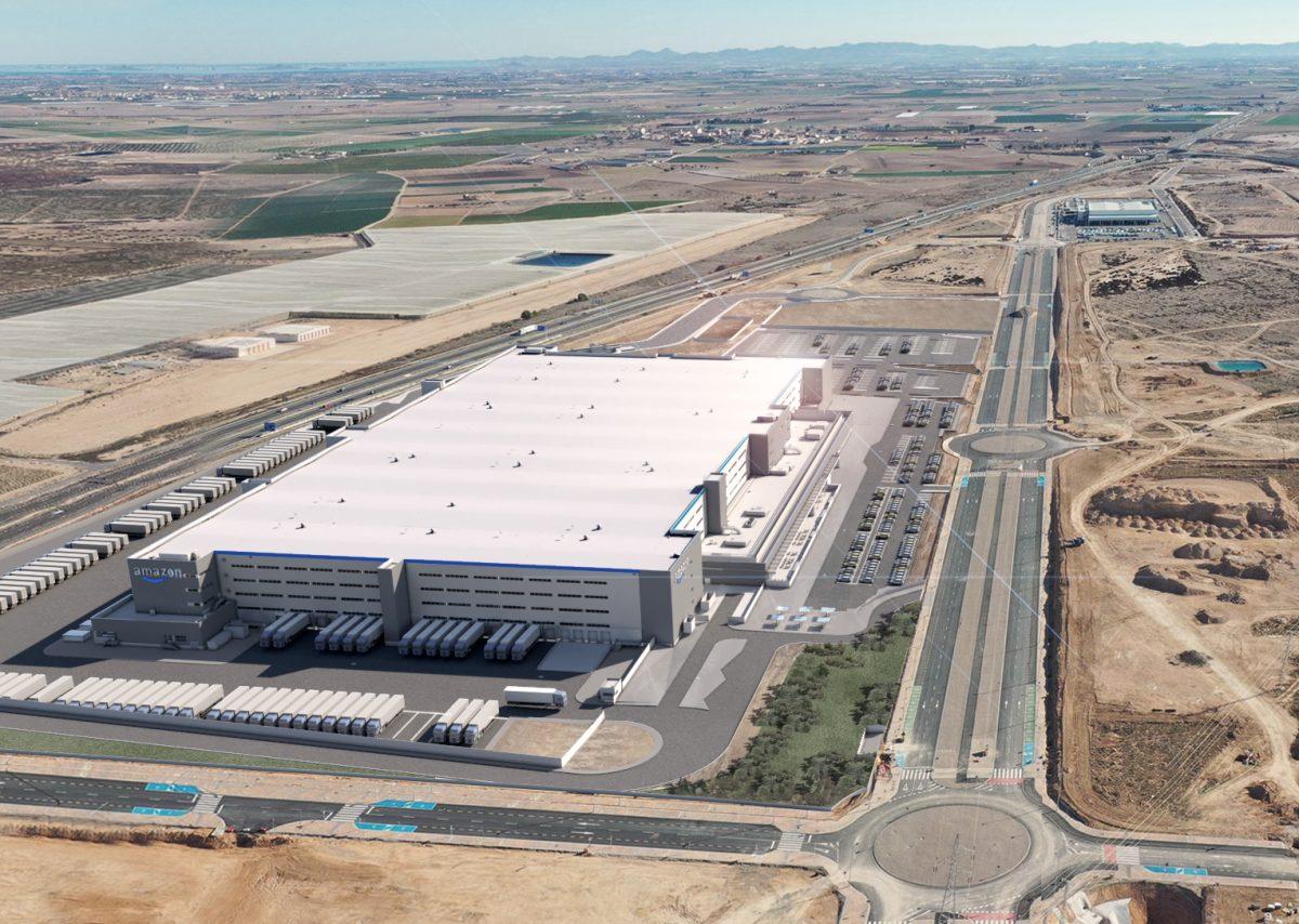 Amazon refuerza su red logística en España con un nuevo almacén robotizado en Murcia