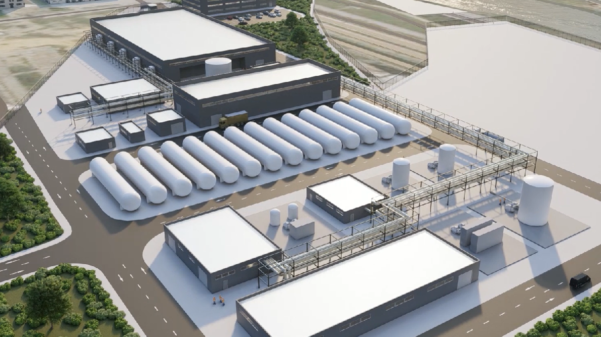 El puerto de Algeciras acogerá una planta de producción de hidrógeno verde