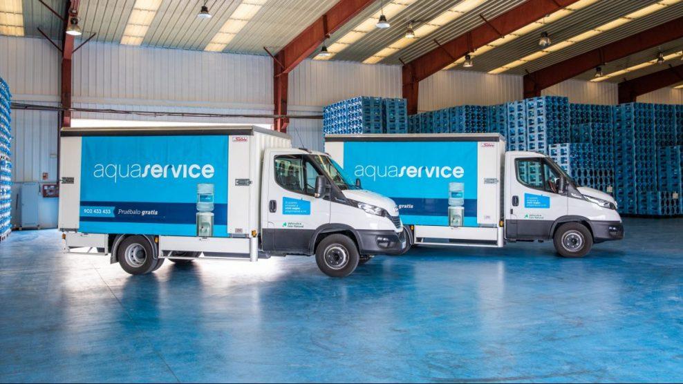Covey suministra vehículos de GNC a Aquaservice para un reparto más sostenible